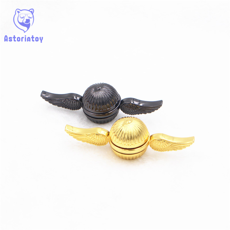 Spinners   Harri Potter Fans Top Spinner Metal Hand Spinner Hand Anti Relieve Stress Hand Toys Spiner Kid Gifts