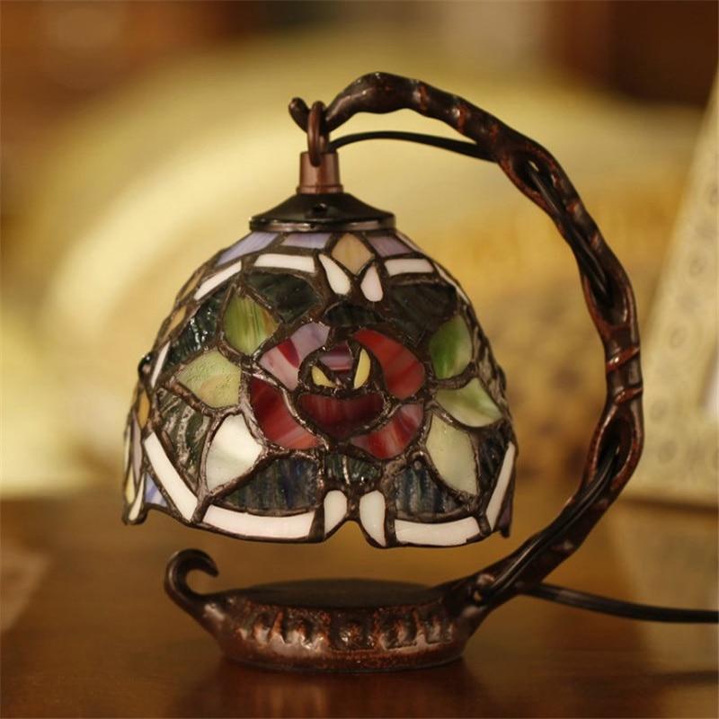 estilo europeu antigo criativo vitrais de metal 02