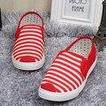 2016 холст квартиры обувь женщина Мокасины zapatos mujer скольжения на женщин повседневная обувь мокасины плоским вождения женская обувь мокасины