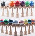 Via Fedex/EMS/DHL, Bola Kendama Professional para venda Japonês Madeira Jogo Toy Kids PU Tintas & Beech Boa Qualidade, 200 PCS