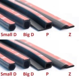 Image 3 - Joint détanchéité en caoutchouc de Type P 3M, bande détanchéité en caoutchouc étanche, isolation phonique, garniture de bord, poussière, pour porte de voiture
