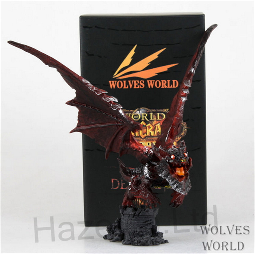 ФОТО World of Monster Neltharion Figure Cosplay with Box 20cm