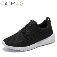 CASMAG Brand New Men And Women Running Shoes Walking Lace Up Breathable Mesh Super Lightweight Sneakers