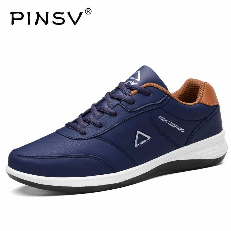 d20be116cc91 ... PINSV обувь из искусственной кожи, мужские кроссовки, мужская обувь,  повседневные лоферы, ...