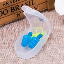 1 комплект водонепроницаемый мягкий силиконовый набор для плавания зажим для носа Ушная затычка инструмент