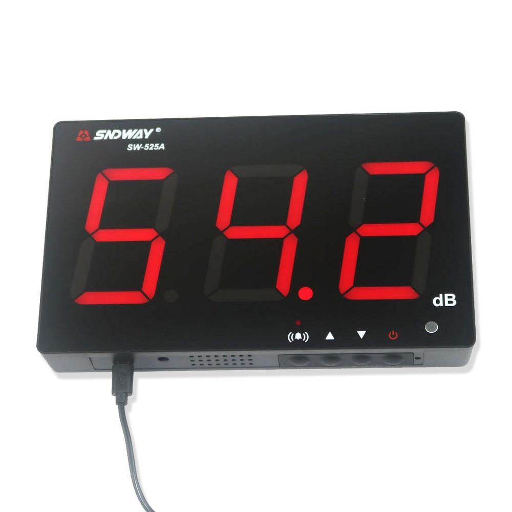 Fonometro digitale 30 ~ 130db display a grande schermo Bar ristorante - Strumenti di misura - Fotografia 3