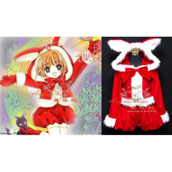 Sakura Christmas Party.Us 142 89 Christmas Party Chobits Chii Cardcaptor Sakura Dress Cosplay Costume Custom Made G552 On Aliexpress Com Alibaba Group