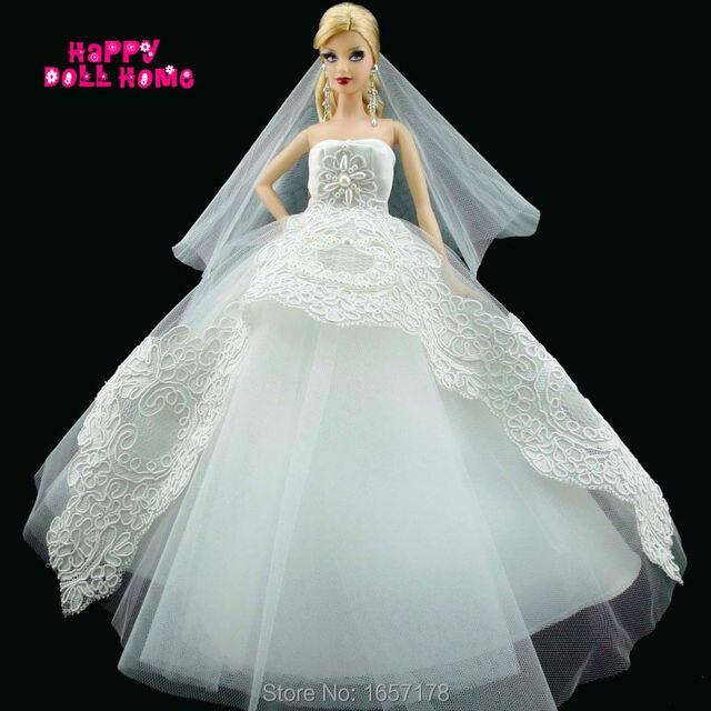 hechos a mano del banquete de boda vestido de novia velo nupcial