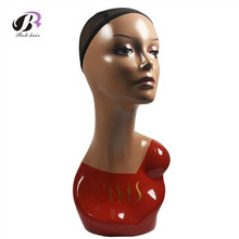 Free Shipping Europe and America Realistic Female Mannequin Head For Wig Mannequin Female Head For Jewellery Wig Head Stand