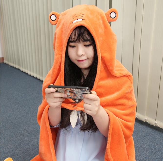 Anime cartoon Himouto Umaru-chan fans unisex women office soft cappa tippet collectible toy gift