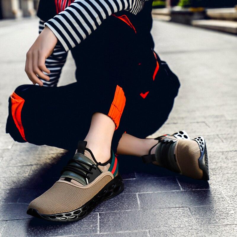 Shoes Male Men Vulcanize Wear-Resistant-Shoes Men Sneakers Air-Mesh Masculino Plus-Size