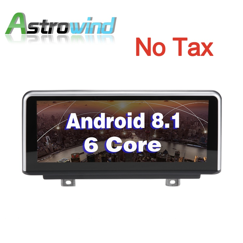 10 25 inch 2G RAM Android 8 1 Car GPS Navigation Media Stereo Radio For BMW