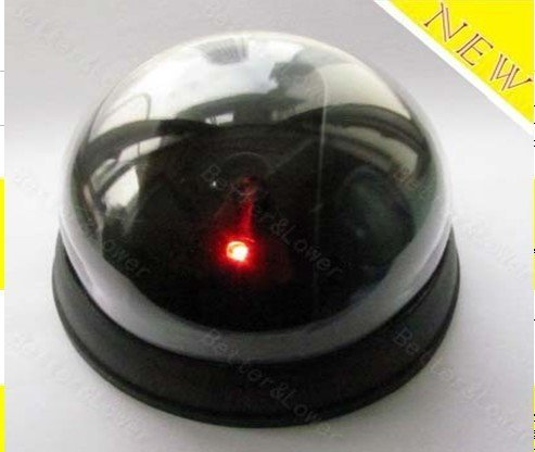 Emulational Fake Decoy Dummy Security CCTV DVR for Home Camera with Red Blinking LED HT71