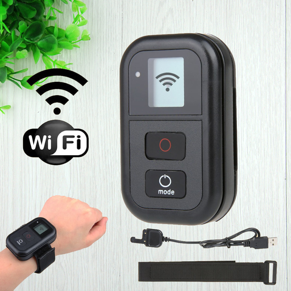 GoPro Wi Fi Control WIFI Remote Control Kit Strap Mount For Go pro Hero 4 3