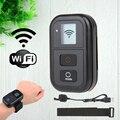Gopro wi-fi wifi control remoto control kit & correa de montaje para go pro hero 4/3 + (plus)/3 negro accesorios de la edición de control wifi