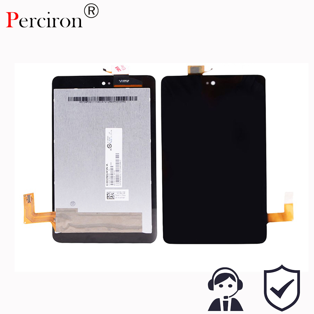 New 7'' inch For Dell Venue 7 3730 Full LCD Display Monitor + Touch Panel Screen Digitizer Assembly Replacement Free shipp new touch screen with digitizer panel front glass for dell t01c venue 7 3730 free shipping