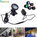 LED Fish tank Light Waterproof IP68 RGB Underwater Light fountain pool Lamp Aquarium  for Swimming Pool Pond Light AC/100-245V