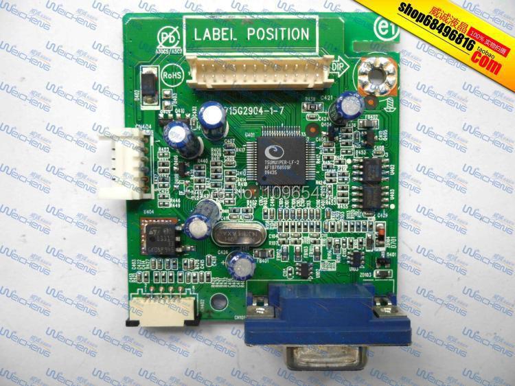 Free Shipping> E1709W logic board 715G2904-1-7 driver board / motherboard / AD board-Original 100% Tested Worki eurolux акриловая ванна eurolux карфаген 170 75