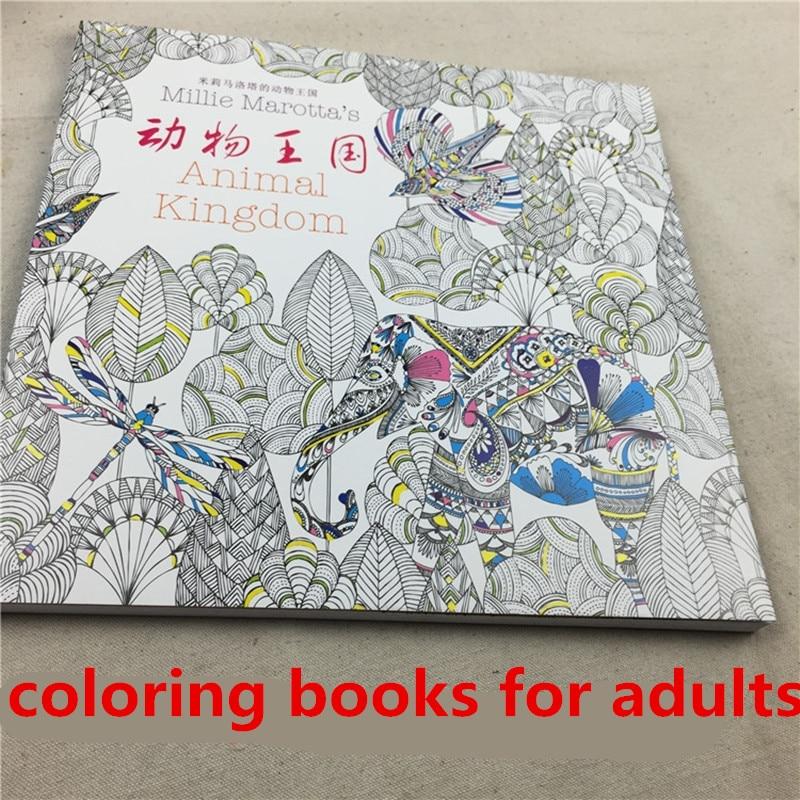 Colorear libros para adultos libros para colorear adultos animal ...