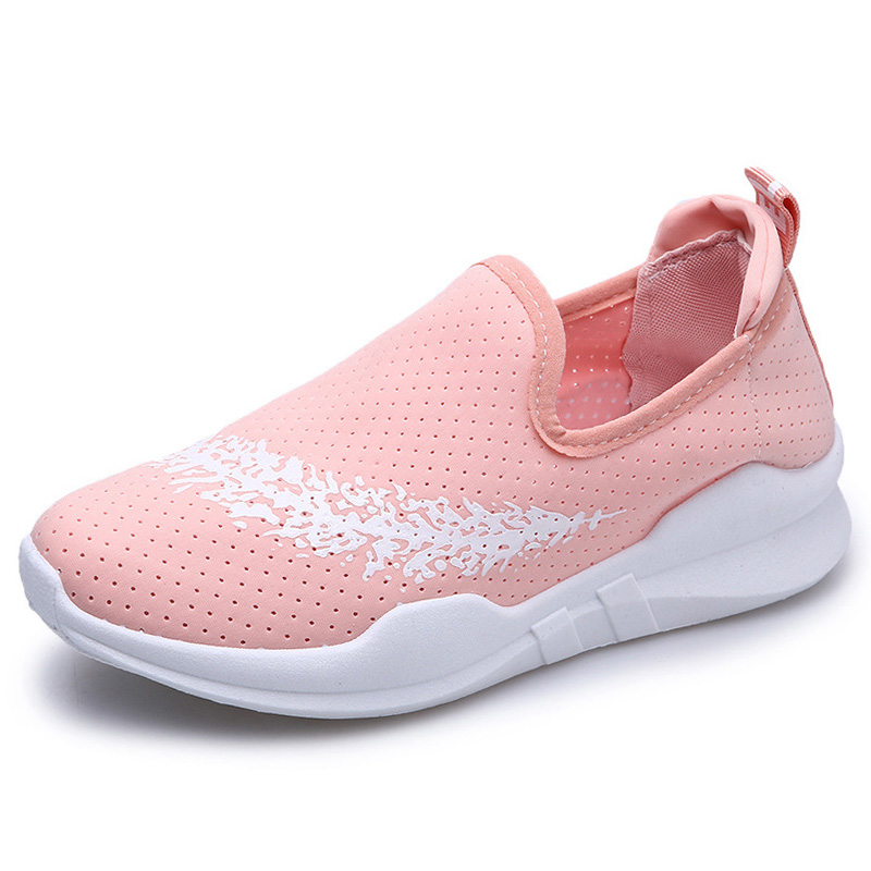 women s sport running shoes Lady walking shoes breathable mesh women s athletic shoes size EU