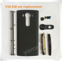 Yamerepair For Lg V10 Full Set Housing Repair Part H961N Back Cover Side Stripes Touch Id