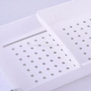 Image 5 - 浴槽棚キャディーシャワー拡張可能なホルダーラック収納トレイ上バス多機能オーガナイザー A10 19 ドロップシップ