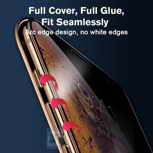 Image 3 - פיצוץ הוכחת רך קרמיקה סרט עבור iPhone 7 8 6 6S בתוספת אנטי טביעת אצבע מט סרט עבור iPhone X XS MAX XR מסך מגן