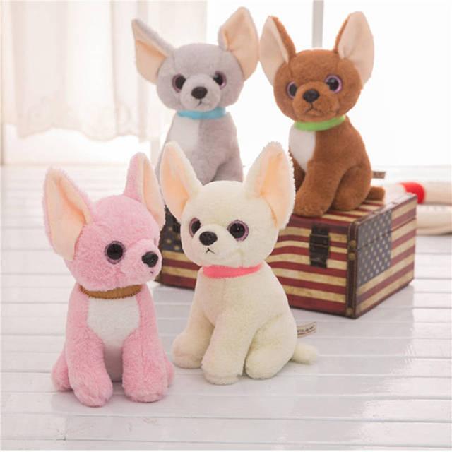 Plush Toys Children Toys Plush Chihuahua Doggy Doll Soft Dog Toy