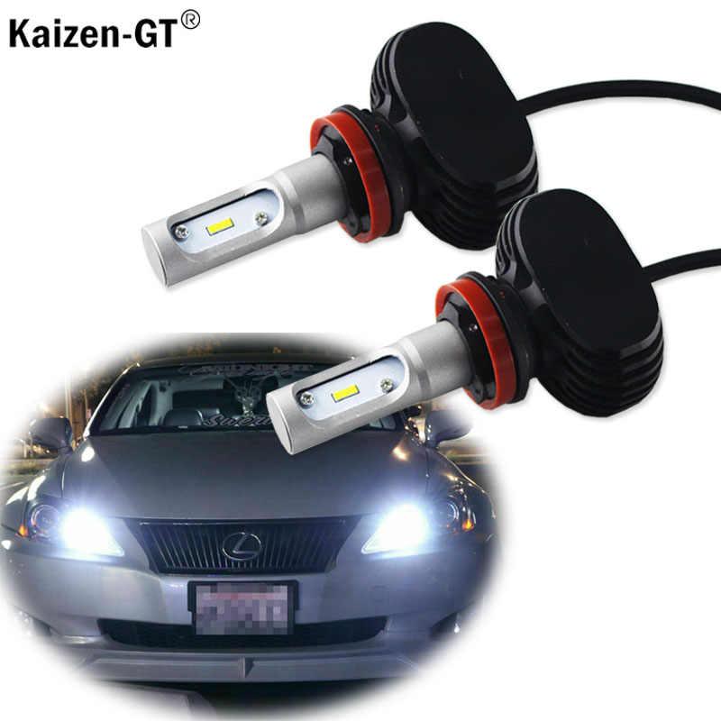 Kaizen-GT высокомощный светодиодный 9005 HB3 6000K белые фары дальнего света дневные ходовые огни DRL для Lexus IS GS ES IS LS LX