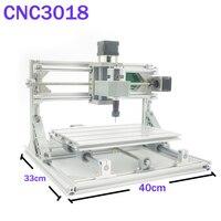 CNC3018 ER11 Diy Cnc Engraving Machine Pcb Milling Machine Wood Router Laser Engraving GRBL Control Cnc