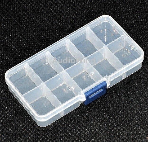 Ten Grid Plastic Component Box. 5.2