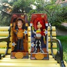 16 pulgadas Toy Story 3 Woody Jessie dibujos animados de PVC figura de acción  colección modelo de juguete para niños regalo de N.. 4bcdda86f95