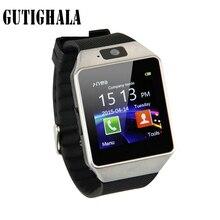 Gutighala DZ09 Esporte Smartwatch Bluetooth SIM Câmera Digital de Pulso Homens Relógio Telefone Inteligente Para A Apple Android Devices Wearable Wach