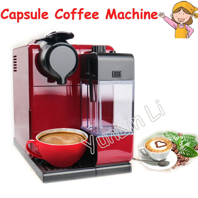 220V Automatic Capsule Coffee Machine 19bar Intelligent Touch Screen Control Capsule Coffee Machine EN550 1 pc 220v en550 home automatic capsule coffee machine 19bar intelligent touch screen control capsule coffee machine