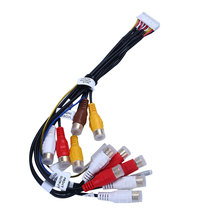 Vehemo Car 24Pin Stereo Radio Wire Harness Plug Replacement Select Pioneer Auto Speaker