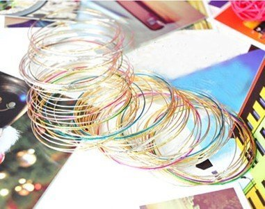 wholesale bracelet thin ring multicolour bracelet fashion best price free shipping