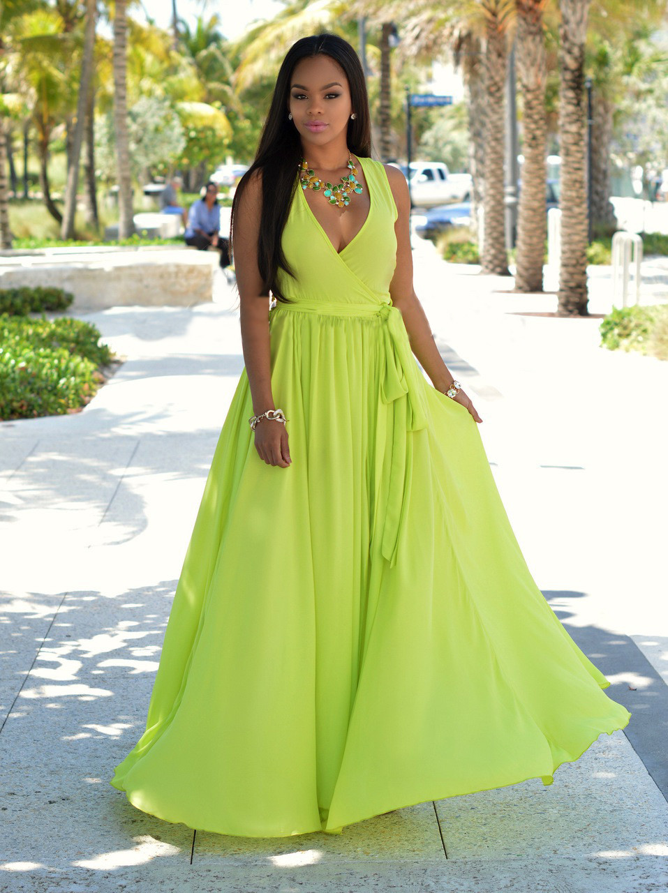 62c163888ca5a US $9.31 15% OFF|Fashion Women clothes Celeb Sexy Boho sleeveless Dress  Ladies V neck cotton Summer Beach Party Sun Dresses one pieces-in Dresses  from ...