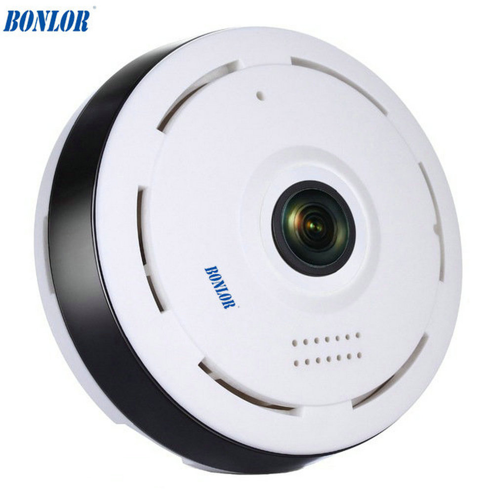 BONLOR 960P WIFI IP Camera 1 3MP 360 Degree FIsheye Camera font b Alarm b font