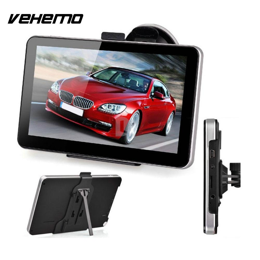 VEHEMO Universal Premium 8GB 800MHZ Multimedia Player Music Game GPS Navigation TFT Touch Screen LCD With North America Map