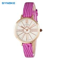 Señoras Reloj de Cuero banda de Cuarzo Relojes de Moda Cinturón de Chica Estudiante Reloj de Pulsera mujer reloj famoso de lujo a estrenar reloj de pulsera relogio