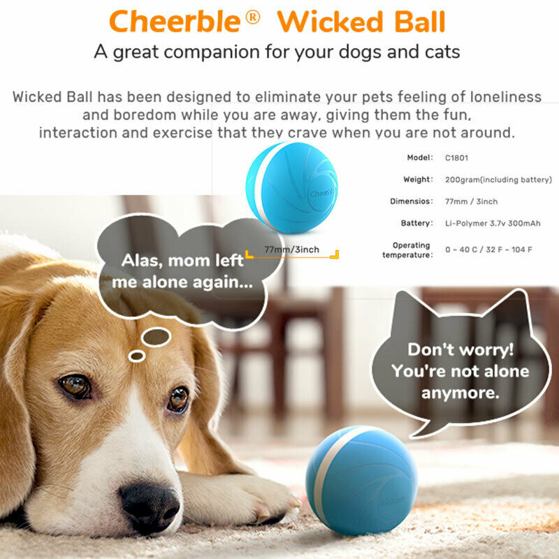New arrival cute solid Explosive <font><b>Pet</b></font> Dog Cat <font><b>Jumping</b></font> <font><b>Activation</b></font> <font><b>Ball</b></font> <font><b>LED</b></font> Light Flashing Bouncing <font><b>Ball</b></font> Puppy Toy one piece image