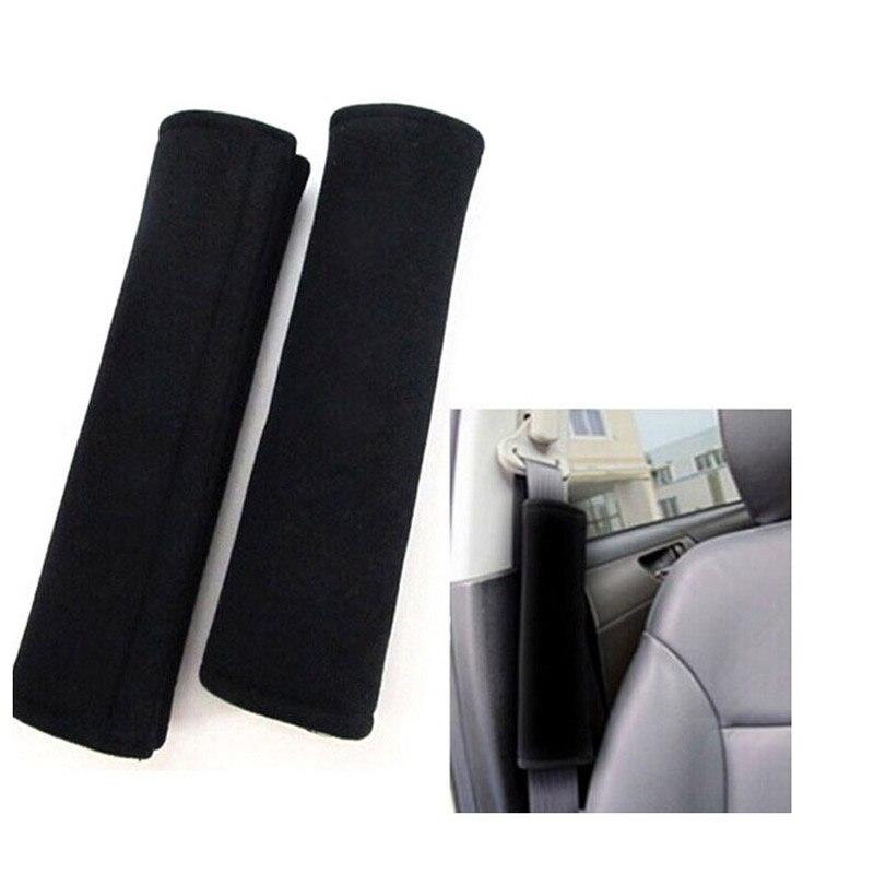 Practical 2 Pcs/set Car Seat Belt Pads Harness Safety Shoulder Strap Backpack Cushion Cover For Adult Kids Nj88