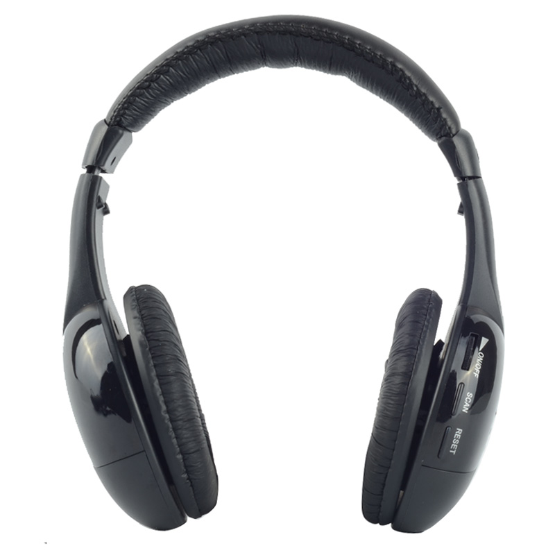 Wireless Headphones Bluetooth Microphone Headset MH2001 MP3 MP4 PC CD DVD Audio TV FM Radio Earphones & Headphones T0704 good quality 5in1 wireless audio chat headphone hifi monitor fm mic for pc tv dvd audio mobile home outdoor earphones
