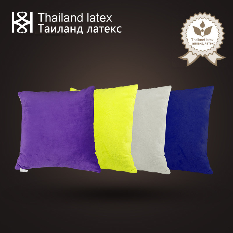 Luxury Natural Latex Filling Sofa Cushion Outdoor Home Decorative Throw  Pillows High Quality(China (