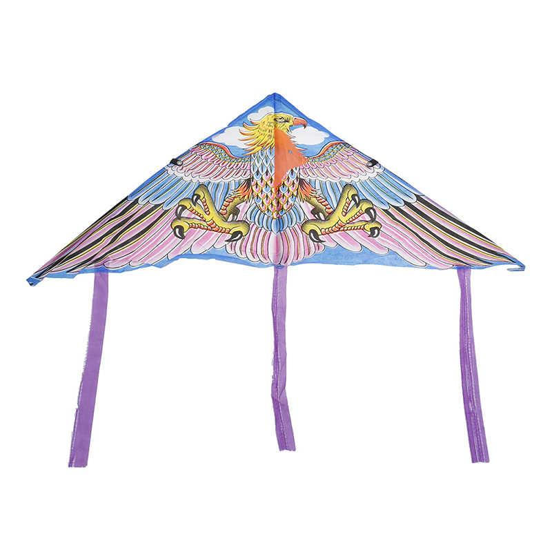 عشوائي 1 قطعة الكرتون طائرة ورقية طوي في الهواء الطلق تحلق تصفح طائرة ورقية الأطفال الاطفال الرياضة اللعب دون التحكم بار وخط