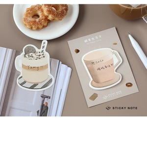 Image 5 - 32 pcs/Lot drink sticky notes Icecream Coffee Fruit memo pad Diary stickers Stationery Office decoration School supplies A6134