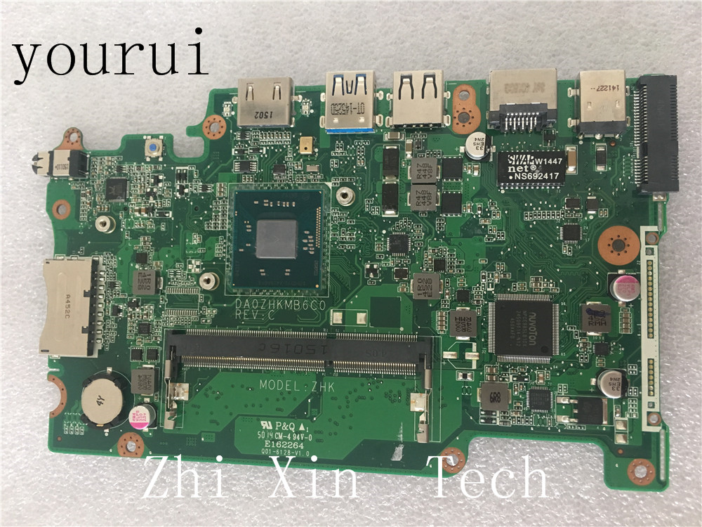 Yourui For Acer Aspire ES1-111 E3-112 V3-112P Laptop Motherboard W/ N2830 CPU DA0ZHKMB6C0 Test Work 100% Original