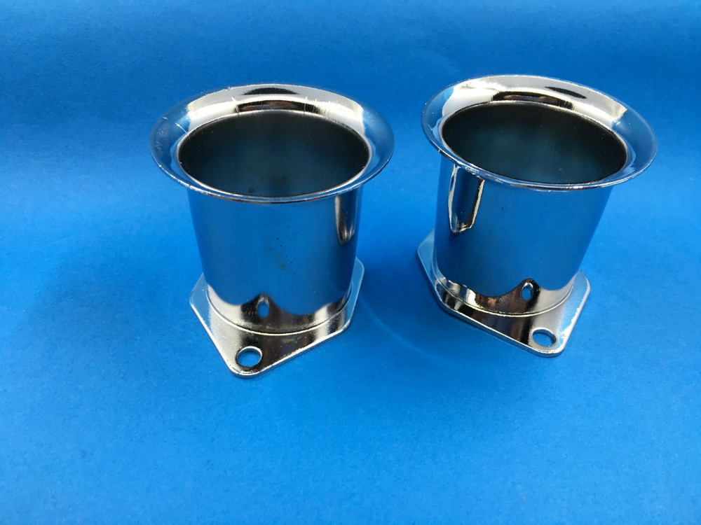 New Velocity Stacks 2 1/4 40mm Or 44mm 48mm IDF for EMPI/WEBER pair