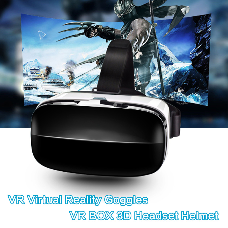 VR Virtual Reality Goggles glasses VR Box 2.0 3D Headset VR Glasses Mini Googles Cardboard For iPhone 5 6 6s Plus Samsung S7 S6