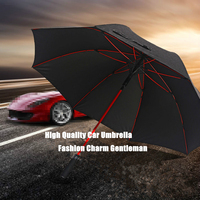 Brand Big Large Creative Tyre Long Handle Rainy Sunny Umbrella Men Windproof High Quality Car Golf